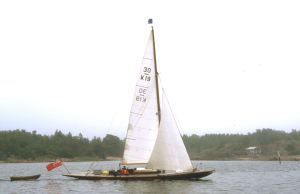 Korybant sailing in Finland