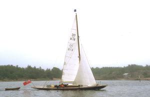 Korybant sailing in Finland
